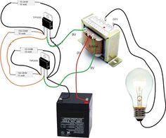 Simple Inverter Circuit Diagram - Electrical Blo g Electronics Projects, Electronic Circuit Projects, Electrical Projects, Electronics Components, Electronic Engineering, Diy Electronics, Electrical Engineering, Electrical Installation, Industrial Engineering
