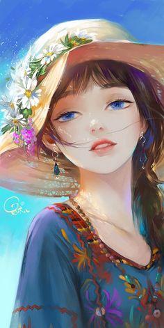 Manga Anime Girl, Cool Anime Girl, Anime Girl Drawings, Kawaii Anime Girl, Cute Drawings, Anime Angel Girl, Cartoon Girl Images, Girl Cartoon, Cartoon Art