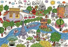 "TOUCH this image: petit guide interactif de Paris by Mme Fle ""C'est incroyable, excellent, j'aime ça beaucoup! French Teaching Resources, Teaching French, Paris Map, Paris France, Paris City, Paris Illustration, French Education, Core French, Viajes"