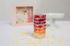 DIY ombre lip gloss recipe (made with Kool-Aid)