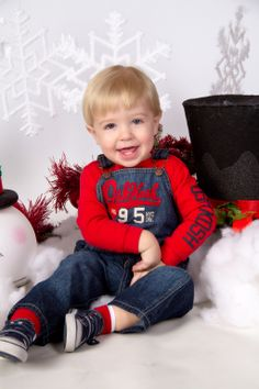 """""""Christmas Fun"""" by Portrait Creations photography studio located in Charlotte, NC."""