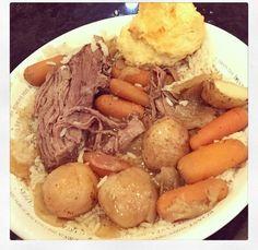 Jessie James Decker's Slow Cooker Pot Roast Recipe