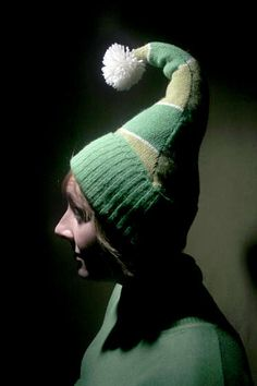 Tutorial for turning Christmas sweaters into an elf hat and socks. Stocking and Elf Costume Christmas Sweater Conversion