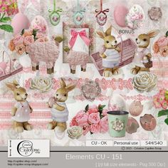 CAJOLINE-SCRAP: Elements CU - 151