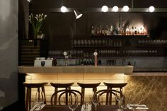 Smalls Bar in South Melbourne by Fiona Lynch | Yellowtrace