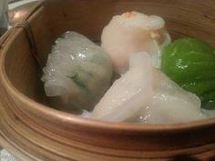 Dumpling Seafood Basket entree