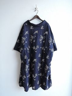 2017SS/美品/ミナペルホネン mina perhonen senko-hanabi ラメ刺繍ワイドワンピース