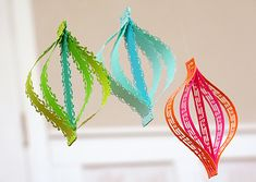 border punched ornaments