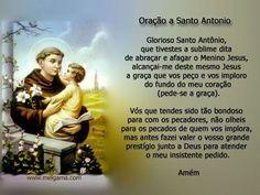 Lindas imagens do Santo Antônio  comemorado no dia 13 de junho.  Santo Antônio é o Santo mais popular do Brasil e, também, é conhecido ...