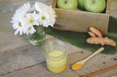 Ginger Turmeric Shot - A quick shot of goodness that will fight inflammation, ward off colds and flu, and soothe stomach upsets!