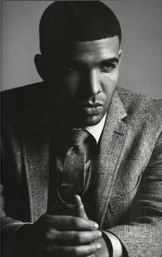 Drake. (just wanted to remind of how sexy you and your voice are.. mad lovee)