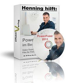 Microsoft PowerPoint 2013 im Beruf, Video-Training in Full-HD auf DVD, für ein ganz neues Level von Effektiv Verlag, http://www.amazon.de/dp/B00SNIS4Q8/ref=cm_sw_r_pi_dp_3wPWub0PMKAK3