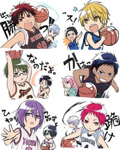 53 best kurokos basketball images on pinterest kuroko no voltagebd Images