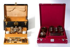 Three Louis Vuitton special-order tea trunks made for the opening of it's Taipei shop in the iconic Taipei 101, the second tallest building in the world - Each was sold for 1.7 million Taiwan dollars ($40,000)