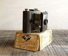 I want a really old vintage camera. I love them.