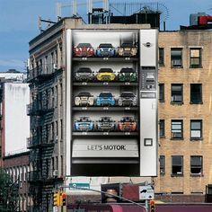 """Case:Creative Ads on Buildings 本日は世界各国の大がかりで想像力溢れる""""ビルディング広告""""をまとめてご紹介します。 ビルの壁を全面的に活用したインパクトのある力強い作"""