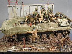 Terrible January in Grozny [Dioramas and Vignet...