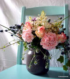 Kukkaiselämää - My Flowering Life : Kukkia sisällä ja ulkona - Flowers indoors and outdoors
