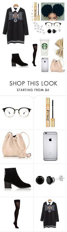 """""""Sem título #90"""" by angelica-curitiba ❤ liked on Polyvore featuring Yves Saint Laurent, Lancaster, Rachel and rag & bone"""
