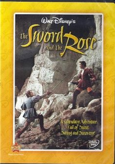 The Sword & the Rose. Set in Tudor-era England. King Henry VIII arranges marriage between sister Mary Tudor & Louis XII, King of France. Every Disney Movie, Disney Movies, Disney Pixar, Richard Todd, Glynis Johns, Charles Brandon, Mary Tudor, First Animation, Movie Covers