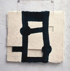 The artist Eduardo Chillida is ranked among the Top on ArtFacts. Art And Illustration, Action Painting, Painting & Drawing, Contemporary Abstract Art, Modern Art, Art Du Collage, Art Moderne, Art Graphique, Art Design