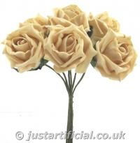 Artificial Colourfast Rose Bud Bunch  This can also come in plum if you email and ask