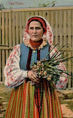 Polish @Sarah McKone  You've been doing it wrong. THis is what a Polish bride looks like.