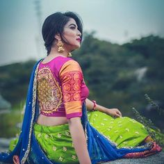Looking for stylish blouse designs for sarees? Here are 40+ chic blouse models with fancy neck and sleeve designs that you can wear with any saree.