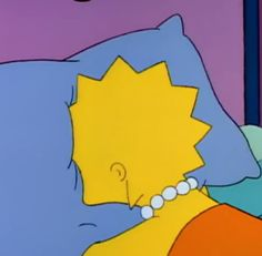 lisa, lisa simpson, and mood image Sad Wallpaper, Wallpaper Iphone Cute, Cute Wallpapers, Simpsons Meme, The Simpsons, Cartoon Icons, Cartoon Memes, Lisa Simpson Tumblr, Los Simsons