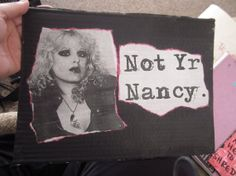 Not Yr Nancy by TheEscapistArtist on Etsy, $7.00