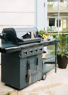 Sahara Gas Bbq With Wheel-away Side Cart : The is the ultimate BBQ. Gas Bbq, Outdoor Living, Outdoor Decor, Barbecue, Outdoor Gardens, Cottage, House Design, Hello Summer, Living Room