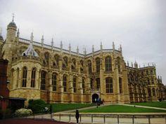 La St. George's Chapel nel magico Windsor Castle. Sede di una delle residenze reali della monarchia britannica, è il più grande castello abitato del mondo. Windsor, nel Berkshire. England.
