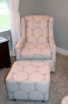 love my nursery glider rocker from target so comfy crumby in