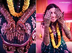 New Delhi Haldi and Mehndi by G+H Photography | MaharaniWeddings.com