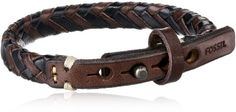 Fossil-Mens-Braided-Bracelet-0 http://jewelryshoppro.com/product-category/mens-bracelets/