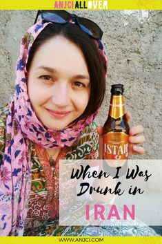 ANJCI ALL OVER | When I Was Drunk in Iran and Almost Missed My Flight #travel #iran #anjciallover