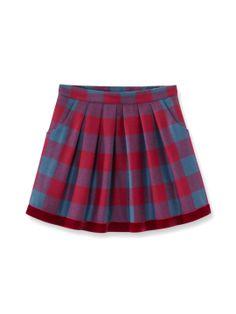 Haven Plaid Skirt by Jacadi