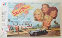 Sweet Valley High Board Game Vintage 1980s Toy by PopCulturelle, $26.00
