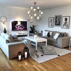 The Best 2019 Interior Design Trends - Interior Design Ideas Decor Home Living Room, Living Room Colors, My Living Room, Interior Design Living Room, Living Room Designs, Bedroom Decor, Cozy Apartment Decor, Inspiration, Room Kitchen