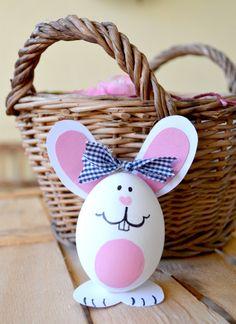 Come fare dei conigli segna posto con le uova - Tutorial