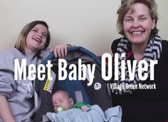 Meet Baby Oliver / http://villagegreennetwork.com/meet-baby-oliver/