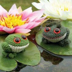 super cute toads amigurumi pattern