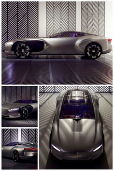Renault proposed a new coupe car inspired in Le Corbusiers work