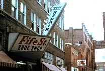 Charleston, WV in the 70s by Jerry Waters.