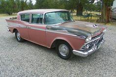 Salmon Sedan: 1959 Rambler Custom - http://barnfinds.com/salmon-sedan-1959-rambler-custom/