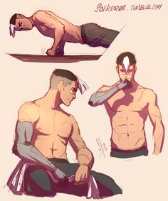 Shiro Sketches by SolKorra.deviantart.com on @DeviantArt