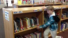 Elementary Library Lesson #2 - Picture Book Organization (Edgerton School District)