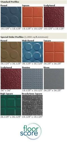 Endura Solid Rubber Floor Tile