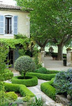 French Mas restoration, France