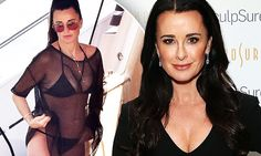 Kyle Richards, 47, confesses she has her fat lasered off